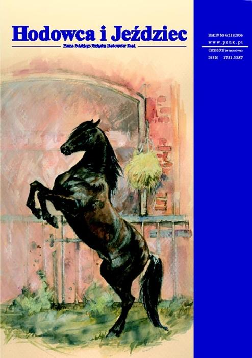 Hodowca iJeździec nr11 | Jesień 2006, Rok IV Nr4