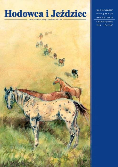 Hodowca iJeździec nr14 | Lato 2007, Rok V Nr3