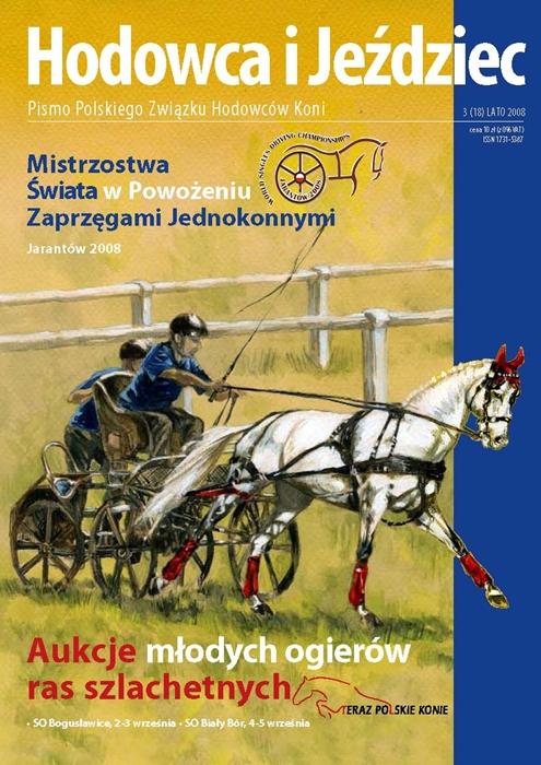 Hodowca iJeździec nr18 | Lato 2008, Rok VI Nr3