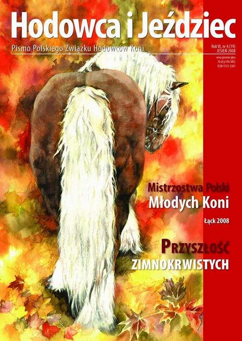 Hodowca iJeździec nr19 | Jesień 2008, Rok VI Nr4