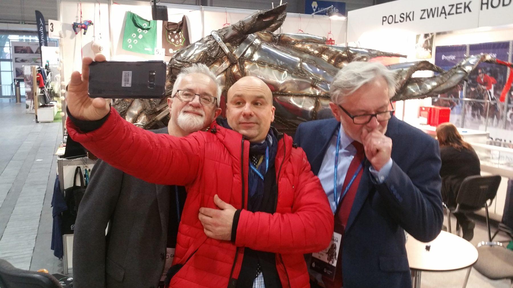 A. Bieńkowski, H. Sawka i J. Sawka