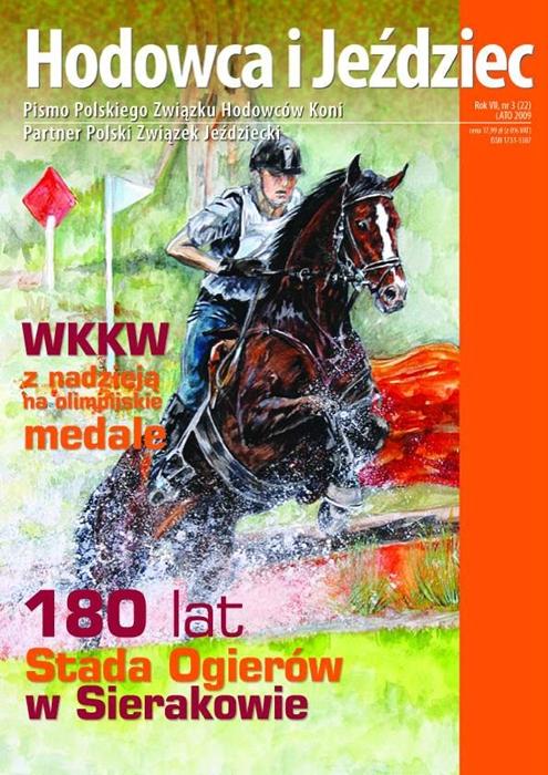 Hodowca iJeździec nr22 | Lato 2009, Rok VII Nr3