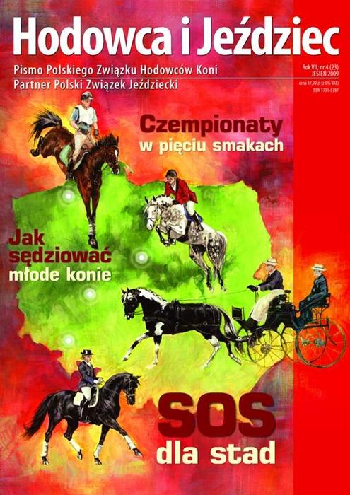 Hodowca iJeździec nr23 | Jesień 2009, Rok VII Nr4