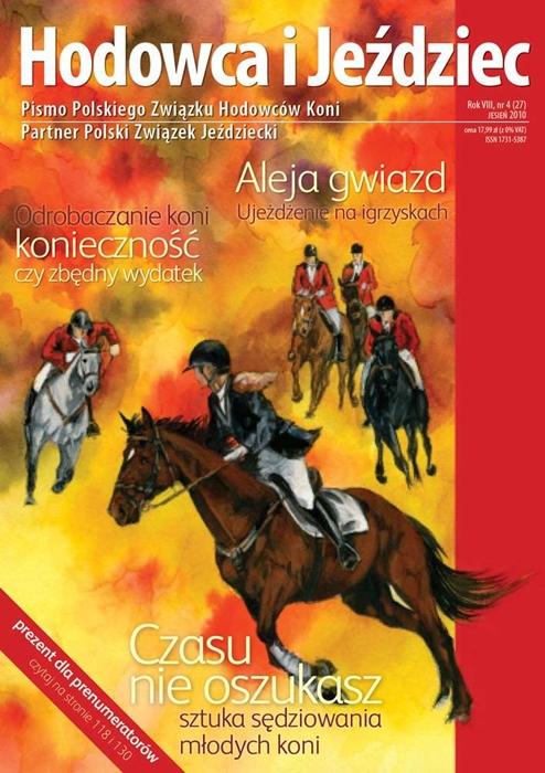 Hodowca iJeździec nr27 | Jesień 2010, Rok VIII Nr4