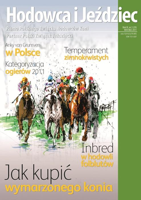 Hodowca iJeździec nr29 | Wiosna 2011, Rok IX Nr2