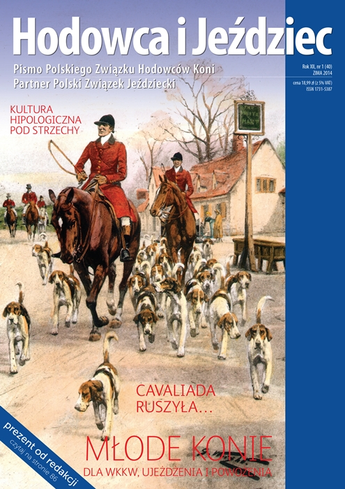 Hodowca iJeździec nr40 | Zima 2014, Rok XII Nr1