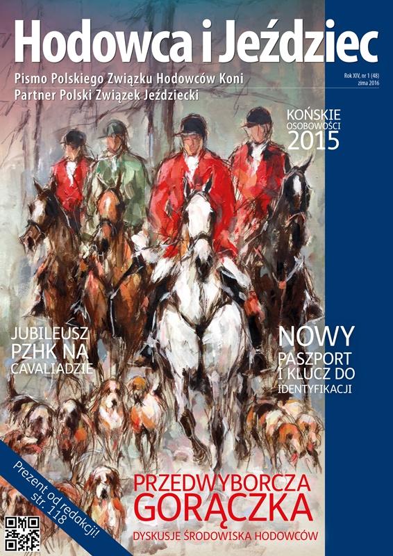 Hodowca iJeździec nr48 | Zima 2016, Rok XIV Nr1
