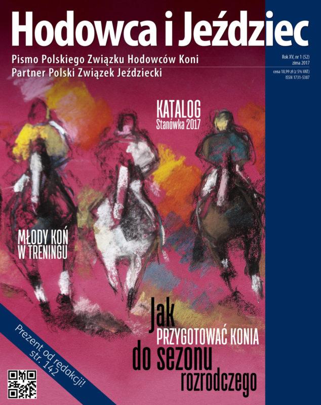 Hodowca iJeździec nr52 | Zima 2017, Rok XV Nr1