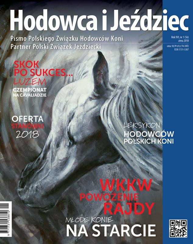 Hodowca iJeździec nr56 | Zima 2018, Rok XVI Nr1