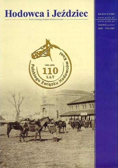 Hodowca iJeździec nr7 | Lato/Jesień 2005, Rok III Nr2