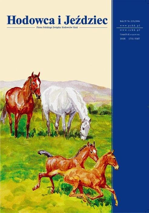 Hodowca iJeździec nr9 | Wiosna 2006, Rok IV Nr2