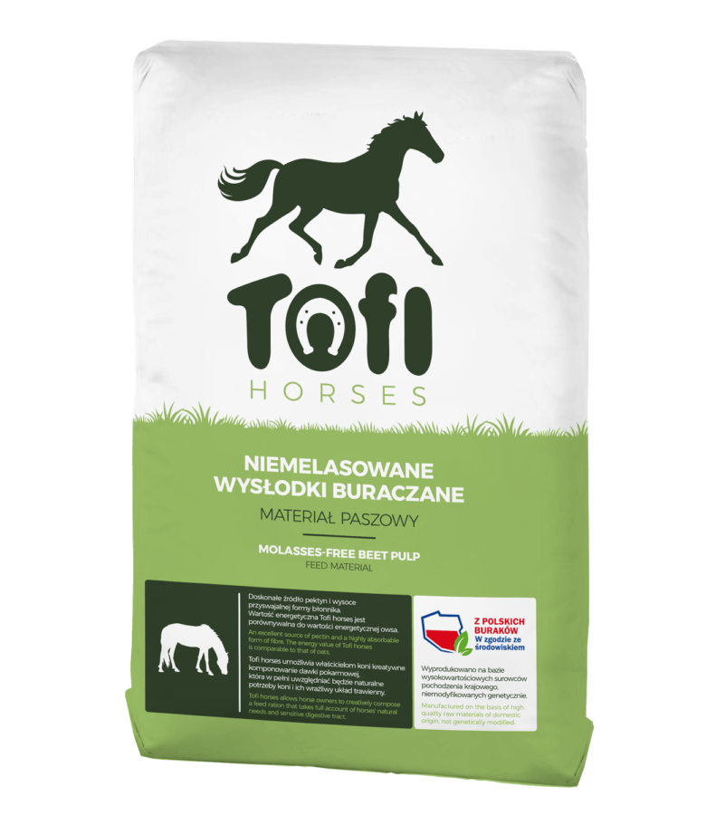TOFI Horses - Niemelaksowane wysłodki buraczane